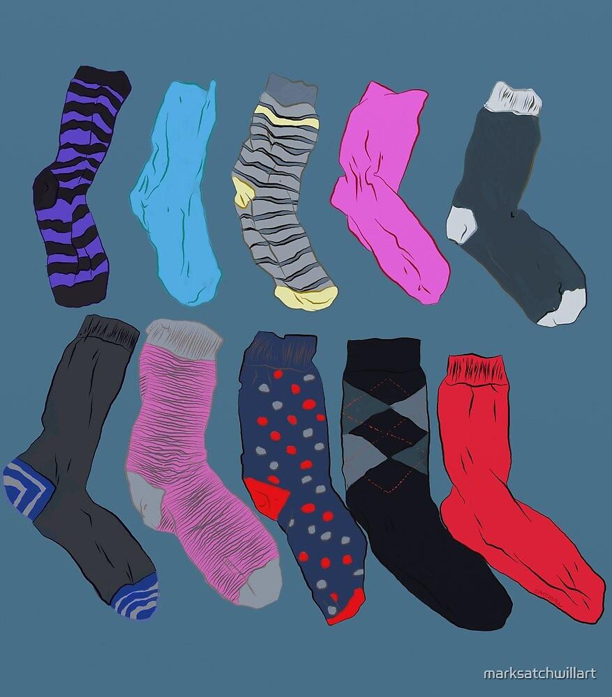 Lost Socks by marksatchwillart