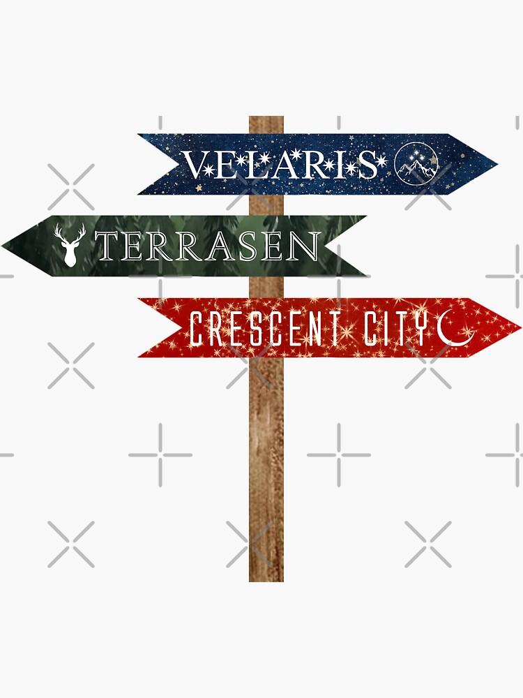 The Worlds of Sarah J Maas Crossroads by juliarosenbe