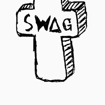 Swag Cross (Small) by shirts4you