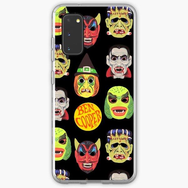Vintage Halloween Masks Samsung Galaxy Soft Case