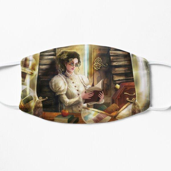 Steampunk Librarian Flat Mask