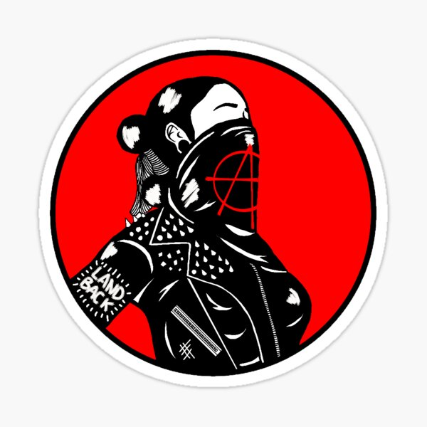 Anarchiste indigène Sticker