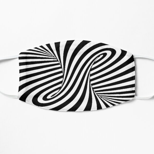 Op Art Trippy Optical Illusions Mask