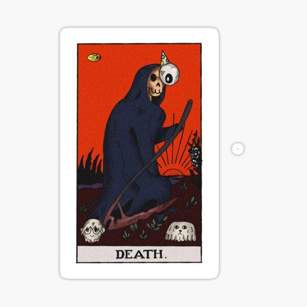 THE MIDNIGHT GOSPEL TAROT CARD T-SHIRT Sticker