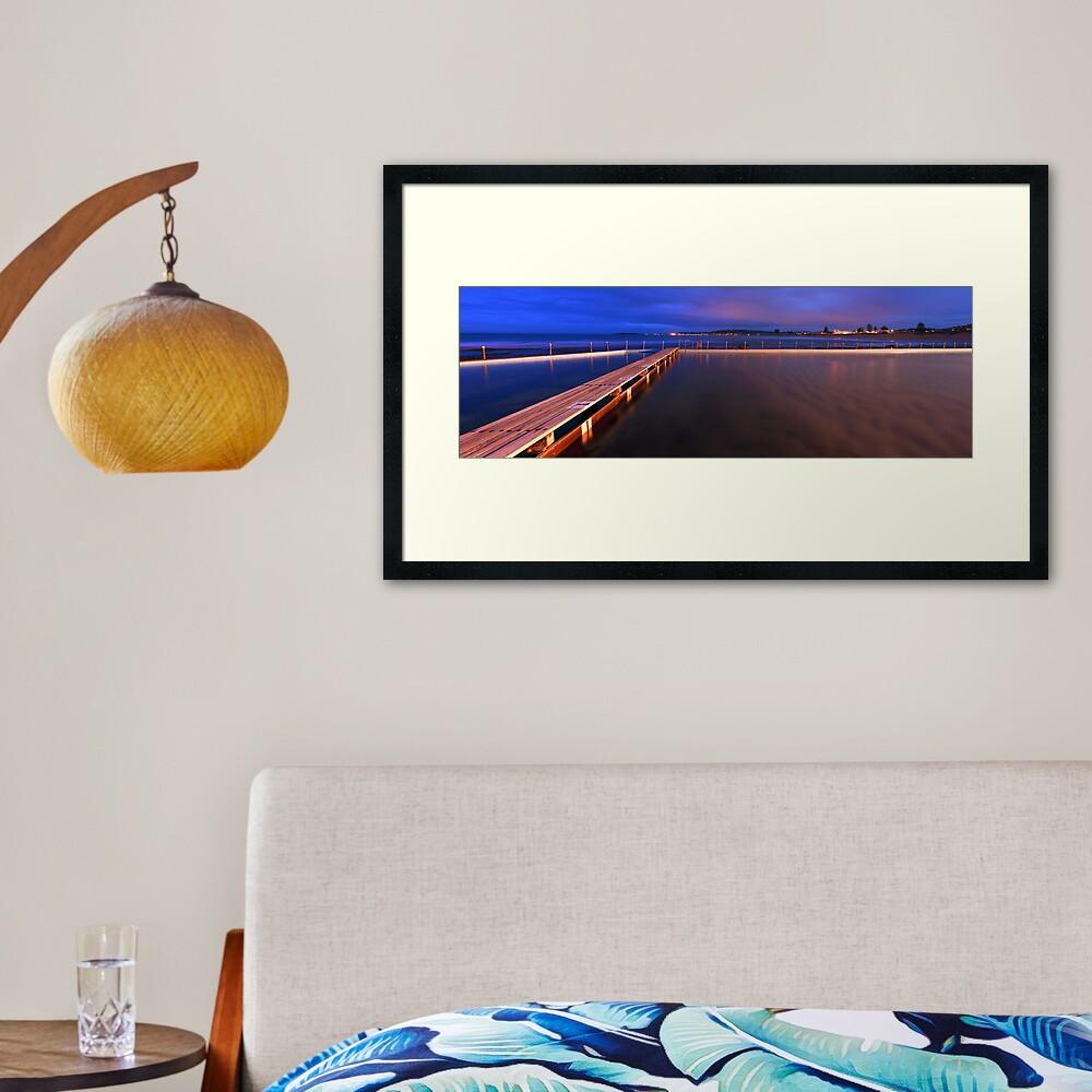 Narrabeen Tidal Pool, New South Wales, Australia Framed Art Print