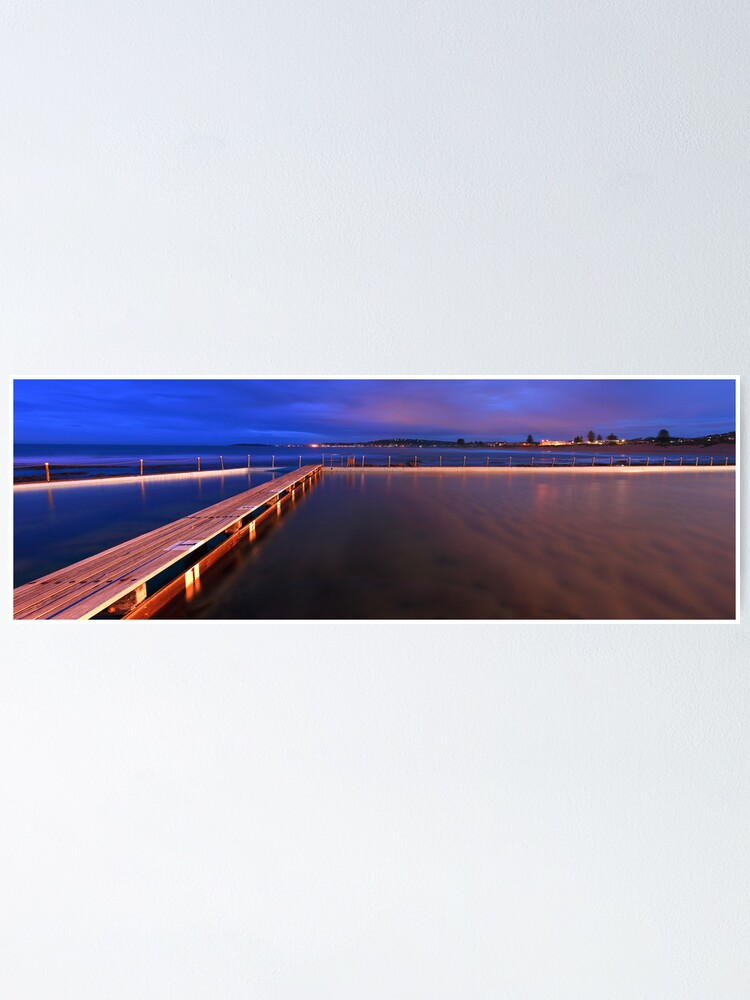Alternate view of Narrabeen Tidal Pool, New South Wales, Australia Poster
