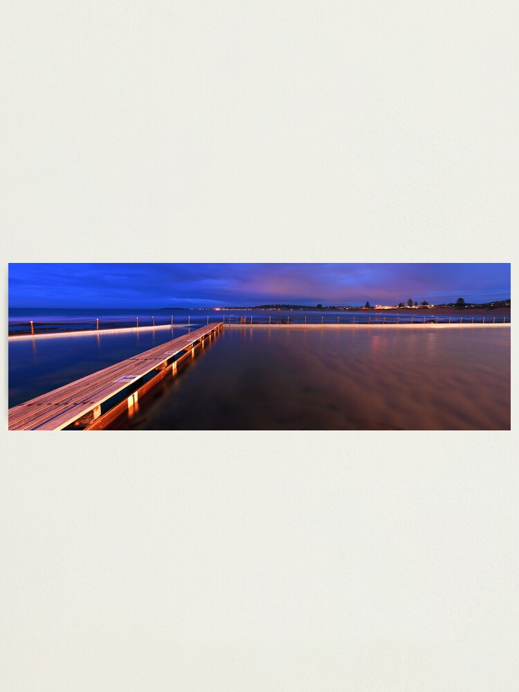 Alternate view of Narrabeen Tidal Pool, New South Wales, Australia Photographic Print