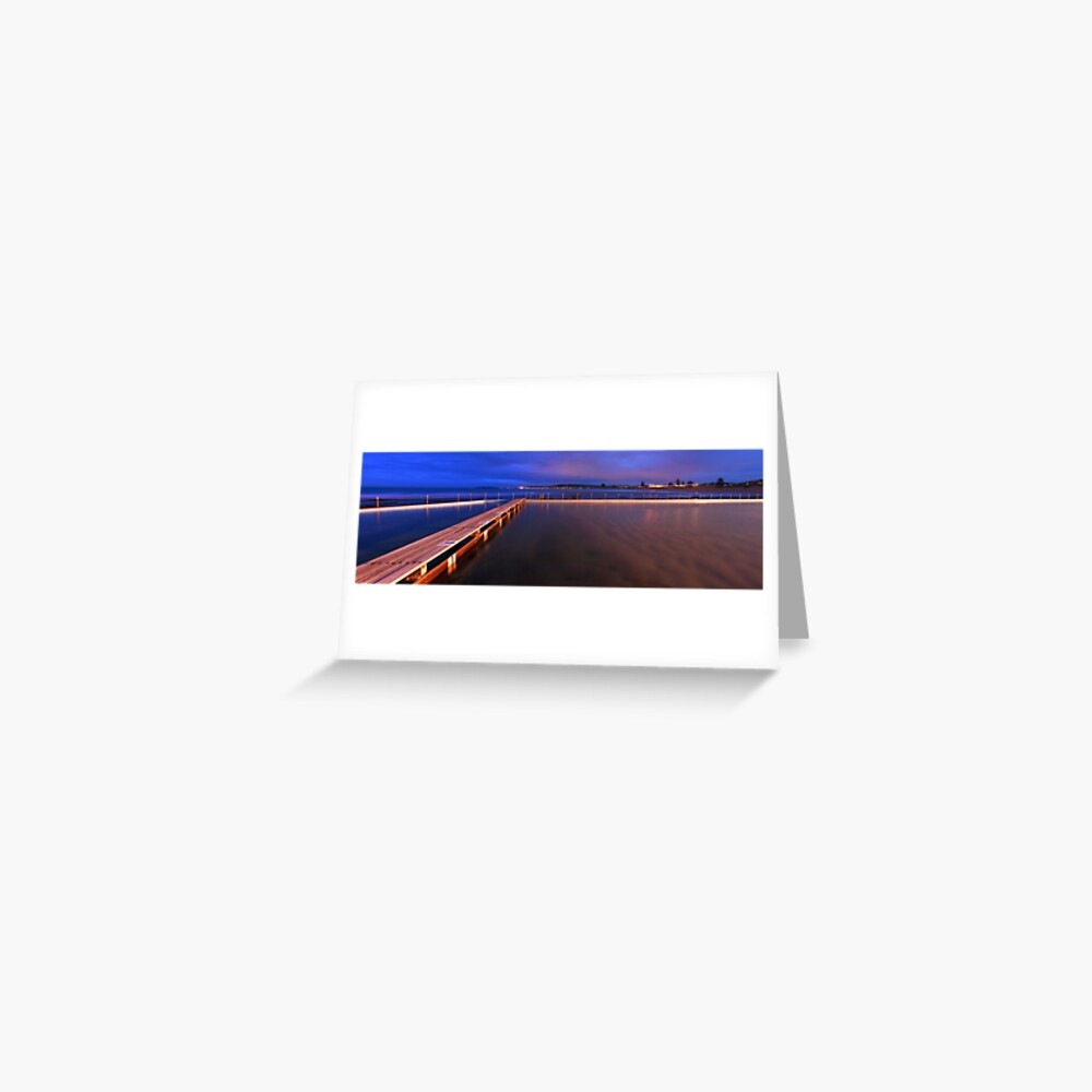 Narrabeen Tidal Pool, New South Wales, Australia Greeting Card