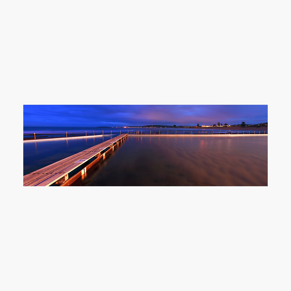 Narrabeen Tidal Pool, New South Wales, Australia Photographic Print