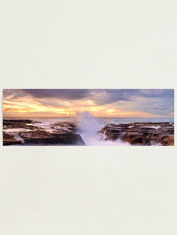 Alternate view of Narrabeen Rocks, New South Wales, Australia Photographic Print