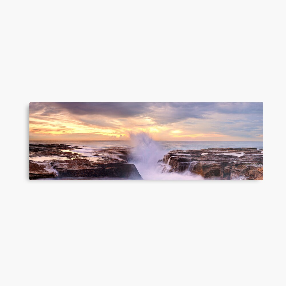 Narrabeen Rocks, New South Wales, Australia Metal Print
