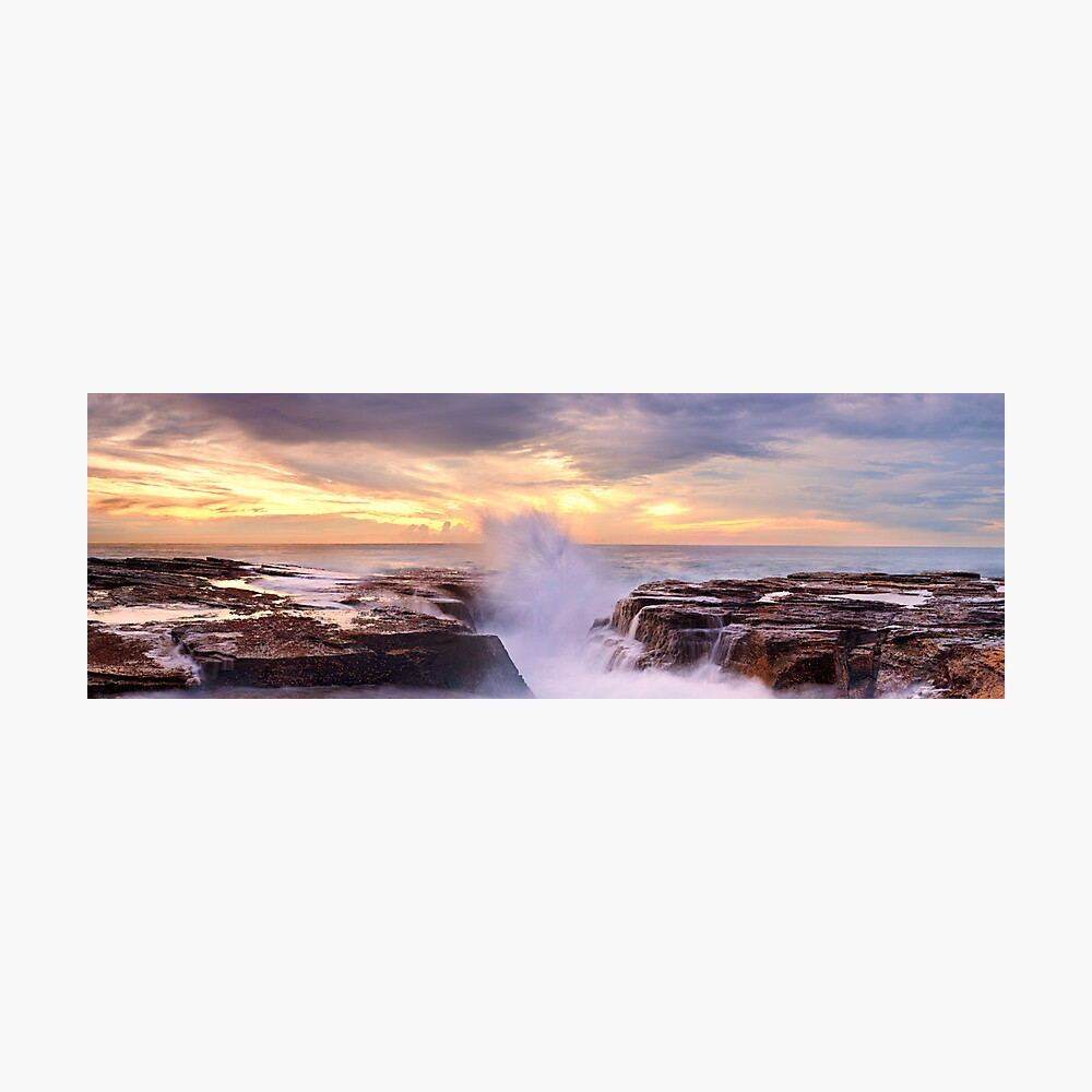 Narrabeen Rocks, New South Wales, Australia Photographic Print