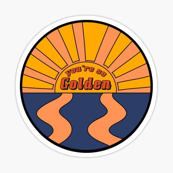 Golden Lyrics Harry Styles  Sticker