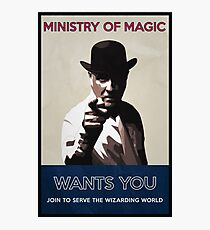 Ministry of Magic Wants You Photographic Print