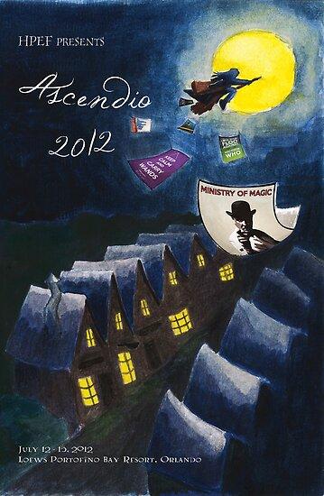 Ascendio 2012 Program Cover by flyingpantaloon