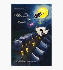 Ascendio 2012 Program Cover Photographic Print