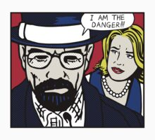I Am the Danger Lichtenstein | Unisex T-Shirt