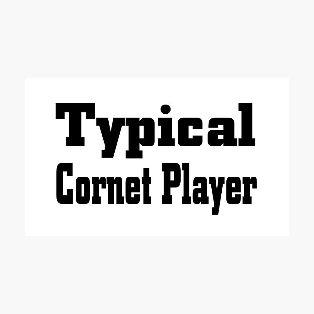Cornet Photographic Print