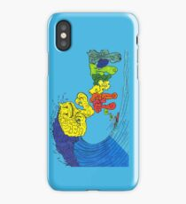 Percentum Surfing iPhone Case