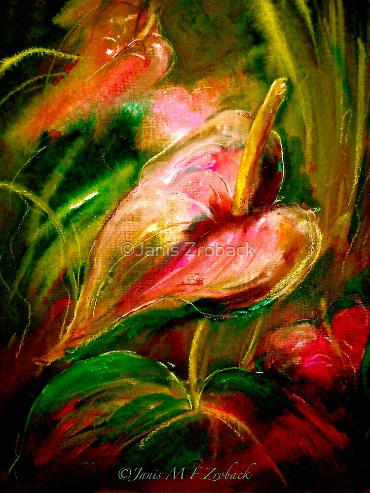 Flowers...Anthurium by ©Janis Zroback