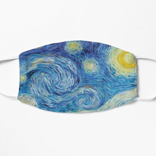La nuit étoilée de Vincent Van Gogh Masque sans plis