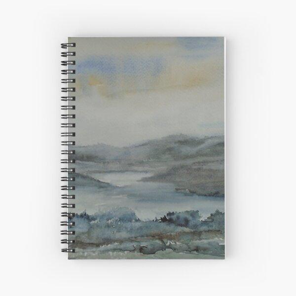 Mist Over Lakeland Spiral Notebook