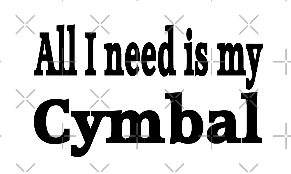 Cymbal by greatshirts