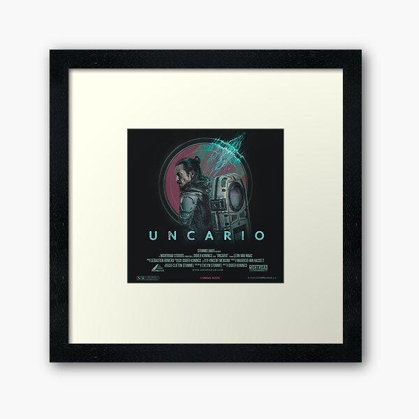 UNCARIO - POSTER  Framed Art Print