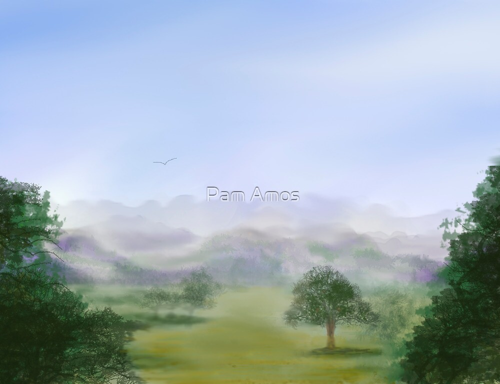 Blue Skies by Pam Amos