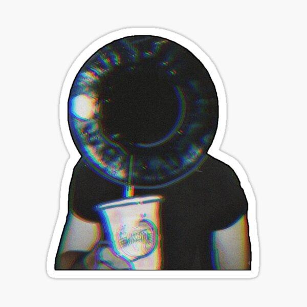 Trippy Edgy Eye  Sticker