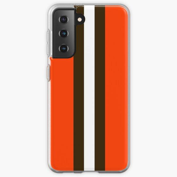 Cleveland Browns Streifenmaske Samsung Galaxy Flexible Hülle