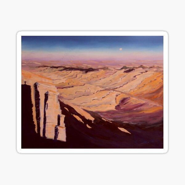Israel Wüste Negev Gemälde Sticker