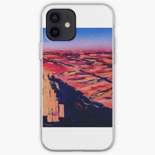 Israel Wüste Negev Gemälde iPhone Flexible Hülle