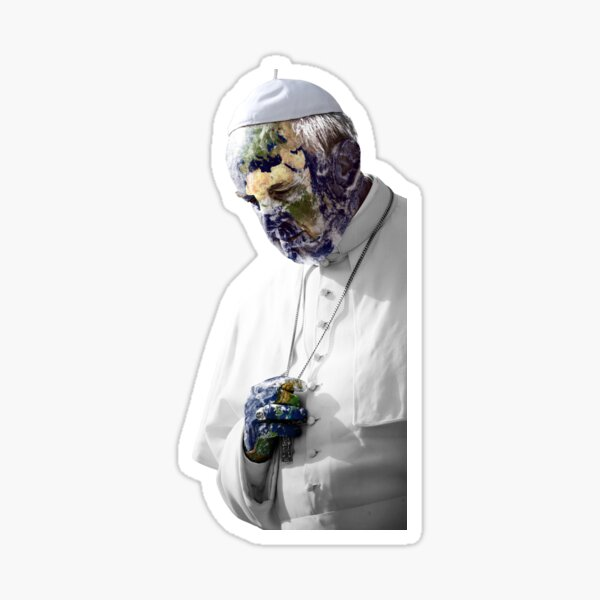 Earth Pope Francis Sticker