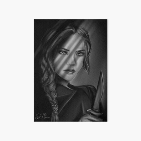 Celaena Sardothien - Adarlan's Assassin Art Board Print