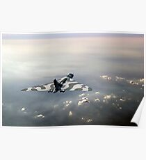 Vulcan over the Channel Poster