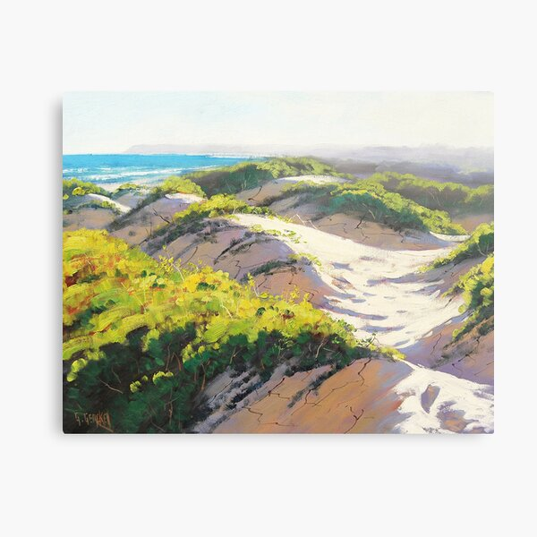 Light Across The Dunes, The Entrance Metal Print