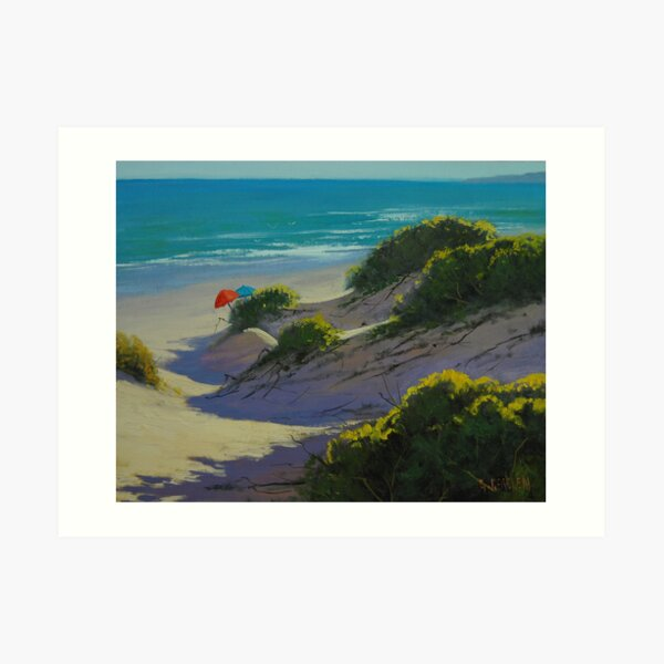 Hidden Dunes Art Print