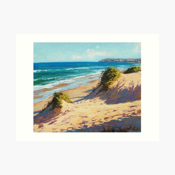 Central Coast Dunes Art Print