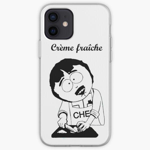 Creme Fraiche South park iPhone Soft Case