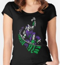 Shred or Die Women's Fitted Scoop T-Shirt