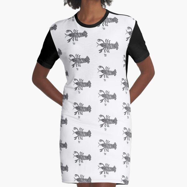 Robot Yabby Graphic T-Shirt Dress