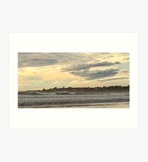 Ominous Skies at Mavillette Art Print