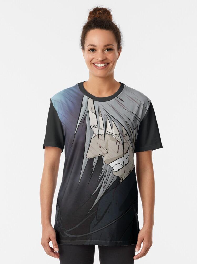 Alternate view of Father Gascoigne - Bloodborne Graphic T-Shirt