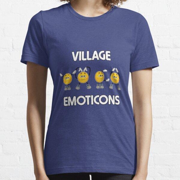 Village Emoticons - YMCA Essential T-Shirt