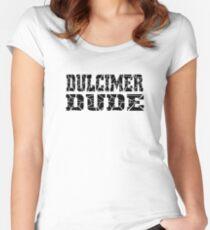 Hackbrett-Typ - lustiges Hackbrett-T-Shirt Tailliertes Rundhals-Shirt