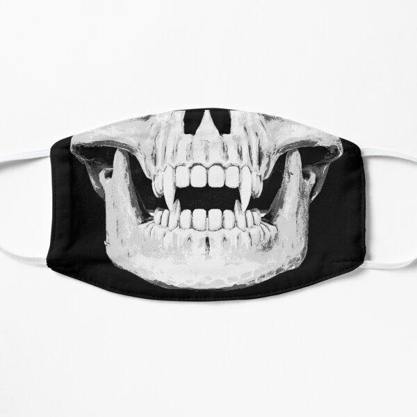 Vampire Skull Horror Lover Halloween Cool Spooky Gift Flat Mask