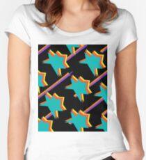 STARBURST Women's Fitted Scoop T-Shirt
