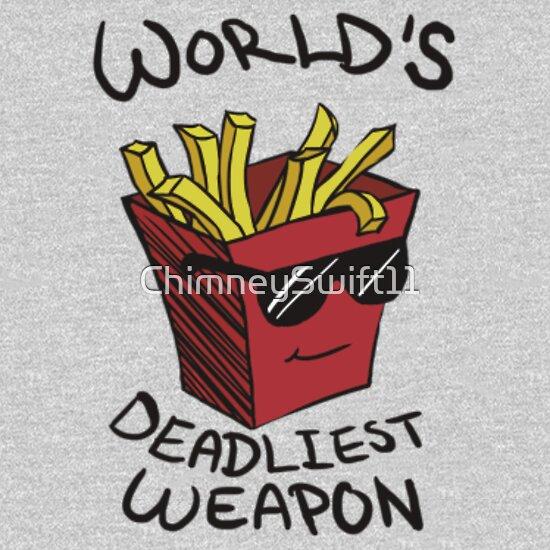 TShirtGifter presents: World's Deadliest Weapon (Original)
