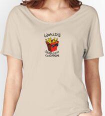 World's Deadliest Weapon (Original) Women's Relaxed Fit T-Shirt